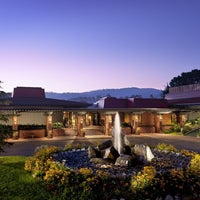 Photo taken at Hyatt Regency Monterey Hotel and Spa on Del Monte Golf Course by Monterey H. on 2/28/2015