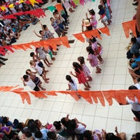 Photo taken at Escola Municipal Cecília Meireles by Francieli C. on 7/19/2013