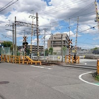 Photo taken at 水道路踏切 by エル on 9/4/2016