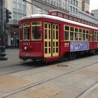 Photo taken at St. Charles Avenue Streetcar by The K. on 3/23/2013