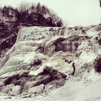 Photo taken at Ithaca Falls by Jim U. on 2/21/2014