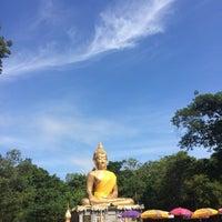 Photo taken at พุทธอุทยานพระมงคลมิ่งเมือง by Vann A. on 7/22/2016
