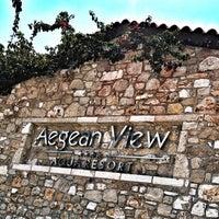 Photo taken at Aegean View Aqua Resort by Anniet L. on 5/3/2017