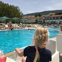 Photo taken at Aegean View Aqua Resort by Anniet L. on 4/30/2017