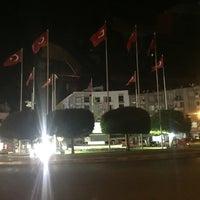 Photo taken at Akhisar Milli Egemenlik Meydanı by Hasan T. on 10/31/2017