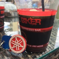 Photo taken at biker espresso bar by Erdal Y. on 8/21/2015