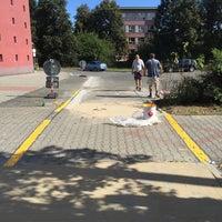Photo taken at Radnice Slovany (tram) by Martin K. on 9/6/2016