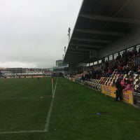 Photo taken at Rodney Parade by Brian M. on 11/12/2016