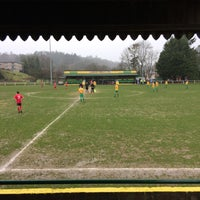 Photo taken at Llanidloes Football Club by Brian M. on 2/25/2017