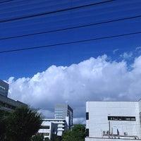 Photo taken at 日曹橋 by naomi on 9/2/2013