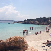 Photo taken at Cala Granada by Paolo L. on 7/12/2013