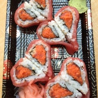 Photo taken at Wasabi Sushi by Donna G. on 4/1/2014
