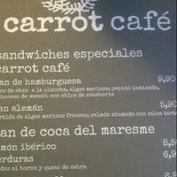 Foto tomada en Carrot Café por Marta R. el 11/27/2012