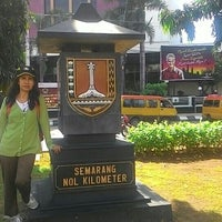 Photo taken at Semarang Nol Kilometer by Ibar I. on 4/30/2016