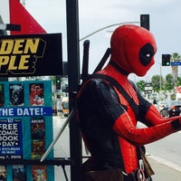 Photo taken at Golden Apple Comics by Ray L. on 4/24/2016