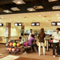 Photo taken at Unimas Bowling Alley by west b. on 10/21/2013