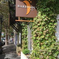 Photo taken at Barefoot Café by Alan B. on 10/24/2015