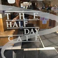 Photo taken at Half Day Cafe by Alan B. on 1/27/2016