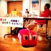 Photo taken at 北秋田市役所 阿仁ふるさと文化センター by Takuma I. on 2/20/2013