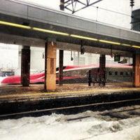 Photo taken at Akita Station by Takuma I. on 2/7/2013