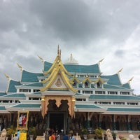 Photo taken at Wat Pa Phu Kon by TheBus S. on 8/13/2018