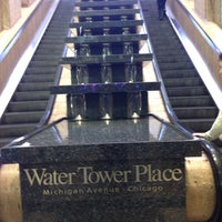 Photo taken at Water Tower Place by Andrea F. on 10/12/2013