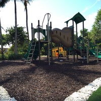Photo taken at Deering Bay Playground by Ethan S. on 11/8/2014
