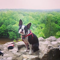 Photo taken at Raven Rock State Park by Ellen K. on 5/4/2013