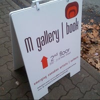 Photo taken at M gallery | book by Black Cloud B. on 11/24/2012