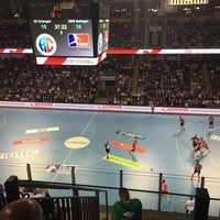 Photo taken at Arena Nürnberger Versicherung by Elisa A. on 5/24/2017