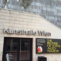 Das Foto wurde bei Kunsthalle Wien von Geneva V. am 5/1/2016 aufgenommen