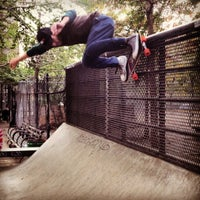 Photo taken at Coleman Playground Skatepark by John G. on 10/26/2012