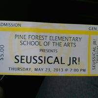 Photo taken at Pine Forest School Of The Arts by Love R. on 5/23/2013