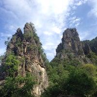 Photo taken at วนอุทยานเขานางพันธุรัต by Pemi B. on 5/31/2015