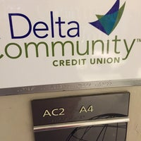 Photo taken at Delta Community Credit Union by Stephen G. on 2/23/2015