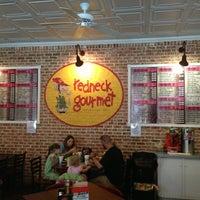 Photo taken at Redneck Gourmet by Stephen G. on 4/12/2014