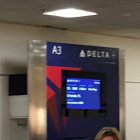 Photo taken at Gate A3 by Stephen G. on 12/25/2016