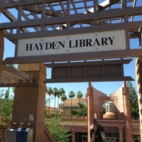 Photo taken at Hayden Library by Stephen G. on 6/20/2013