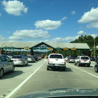 Photo taken at GA 400 Toll Free Plaza by Stephen G. on 9/28/2013