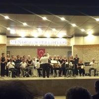 Photo taken at Gümüldür Amfi Tiyatrosu by Enes K. on 8/25/2017