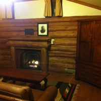 Photo taken at Bright Angel Historic Cabins by Andy G. on 11/5/2012