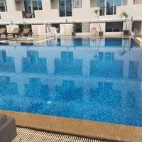 Photo taken at Eurasia Boutique Hotel Pattaya by K on 8/17/2016