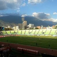 Photo taken at Estadio Olímpico Universitario by Mario M. on 2/17/2013