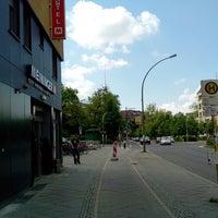 Photo taken at MEININGER Hotel Berlin Alexanderplatz by Michael S. on 5/12/2013