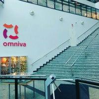 Photo taken at Omniva HQ by Oskars S. on 10/1/2015