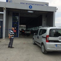Photo taken at TÜVTÜRK Araç Muayene İstasyonu by Halil Ö. on 8/11/2017
