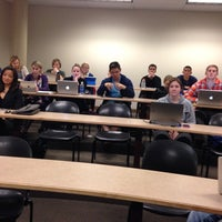 Photo taken at Jepson School of Business by Michael E. on 11/12/2013