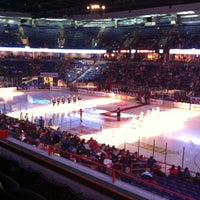 Photo taken at Spokane Veterans Memorial Arena by Michael E. on 1/19/2013