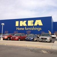 Photo taken at IKEA by Matthew L. on 3/9/2013