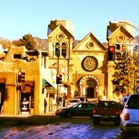 Photo taken at Santa Fe Plaza by Dominic P. on 12/25/2012